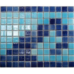 Cenefa-Olas Malla Fondo Azul Claro